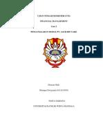 PENGANGGARAN MODAL PT. AGUR BIN YAKE