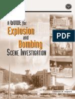 2000 - NIJ - A Guide for Explosion and Bombing Scene Investigation