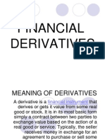 Meaning of Deriv