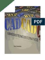CAD Exercicios Tecnicos e Criativos ISBN Denis Mandarino