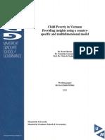 Wp2008-008 Child Poverty Vietnam