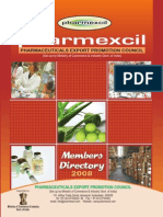 Pharmexcil Members Directory 2008