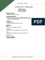 Planificacion Matematica 7 Basico Semana 3 Marzo 2013