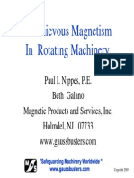 Mischievous Magnetism in Rotating Machinery - Paul Nippes (MPS)