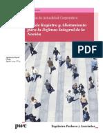 Boletín Actualidad Corporativa N° 13 - Ley de Registro y Alistamiento Para La Defensa Integral de La Nación