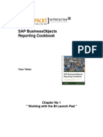 9781782172437_SAP_BusinessObjects_Reporting_Cookbook_Sample_Chapter