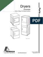 Speed Queen - Dryer Service Manual