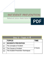 5 Incident Prevention