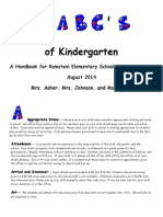 abcsofkindergarten