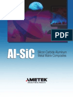 Al-SiC Silicon Carbide Aluminum Metal Matrix Composities