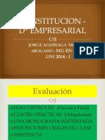 CONSTITUCION D° EMPRESARIAL