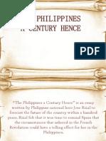 philippines a century hence