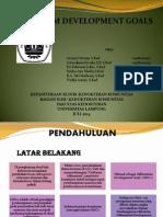 slide MDG's