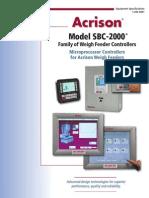 SBC2000 Brochure