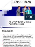 What to Expect in an Audit