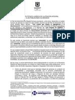 Documentos SDS-Justitificacioìn Abordaje Poblaciones Vulneradas