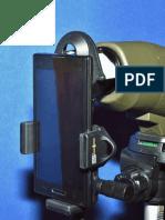 S4 Gear ZOOM SVS Smartphone Digiscoping Mount