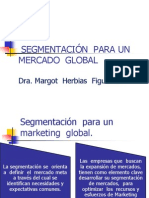 Segmentación Para Un Mercado Global