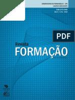 Revista Formação. Upe 2010 2011