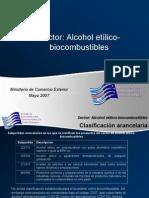 Alcohol Etilico y Biocombustible