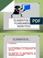 Elementos Del Planeamiento Didáctico Url
