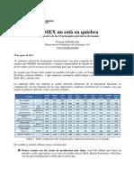 PEMEX No Está en Quiebra. Comparativa de Las 10 Principales Petroleras Del Mundo 130901