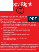 copy right project