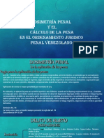 Dosimetría Penal y El Cálculo de La Pena