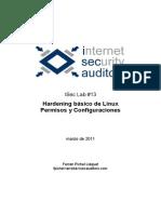 Iseclab13-Hardening Basico Linux Permisos y Configuraciones