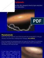 2. Solar Nebula Evolution Condensation