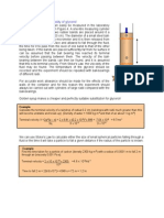 Viscosity of Glycerol Measurement
