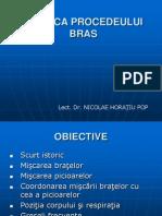 Tehnica Procedeului Bras Curs Ix