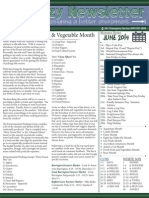 Cozy Newsletter June 2014