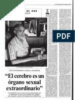 José Luís Sampedro|Entrevista de ElPais 1985