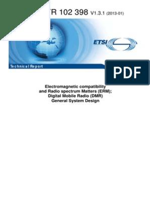 ETSI DMR General System Design | Communications Protocols
