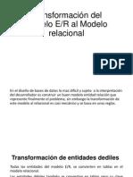 Transformación Del Modelo E
