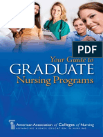 American Association of Colleges of Nursing Graduate Students Brochure