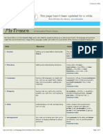 BBC - Languages - French - Ma France - Syllabus