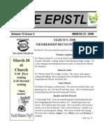 EPISTLE 2008-03