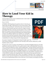 How to Land Your Kid in Therapy - Magazine - The Atlantic