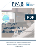 Brochure MS Project Avanzado