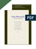 Joan Maragall Poesies