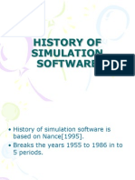 5324033 History of Simulation Software