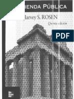 Bb. Rosen h - Manual de Hacienda Publica - Cap 1 y 3
