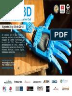 Brochure Evento Magia Impresion 3D Fablab2014