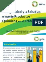 La Seguridad y Salud en El Trabajo en El Uso de Productos Químicos en El Trabajo.