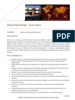 Software Project Mgr Tucson JP073013