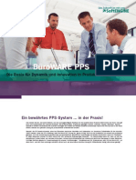 BüroWARE PPS - Die Basis für Dynamik und Innovation in Produktionsunternehmen