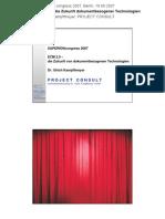[DE] ECM 2.0 - die Zukunft dokumentenbezogener Technologien   Ulrich Kampffmeyer   2007