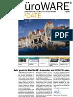 SoftENGINE Update 02.2008 - Die Zeitschrift für Freunde und Anwender der BüroWARE und der WEBWARE